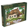 Falcon De Luxe, Swan Cottage, jumbo 500pc Jigsaw Puzzle