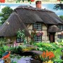 Country Cottage Collection, River Cottage, 1000pc