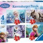 Disney Frozen 4 in Box, 12pc, 16pc, 20pc & 24pc