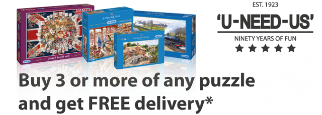 FREE Delivery on Puzzles