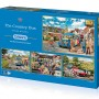 The Country Bus, 4 x 500pc Puzzles