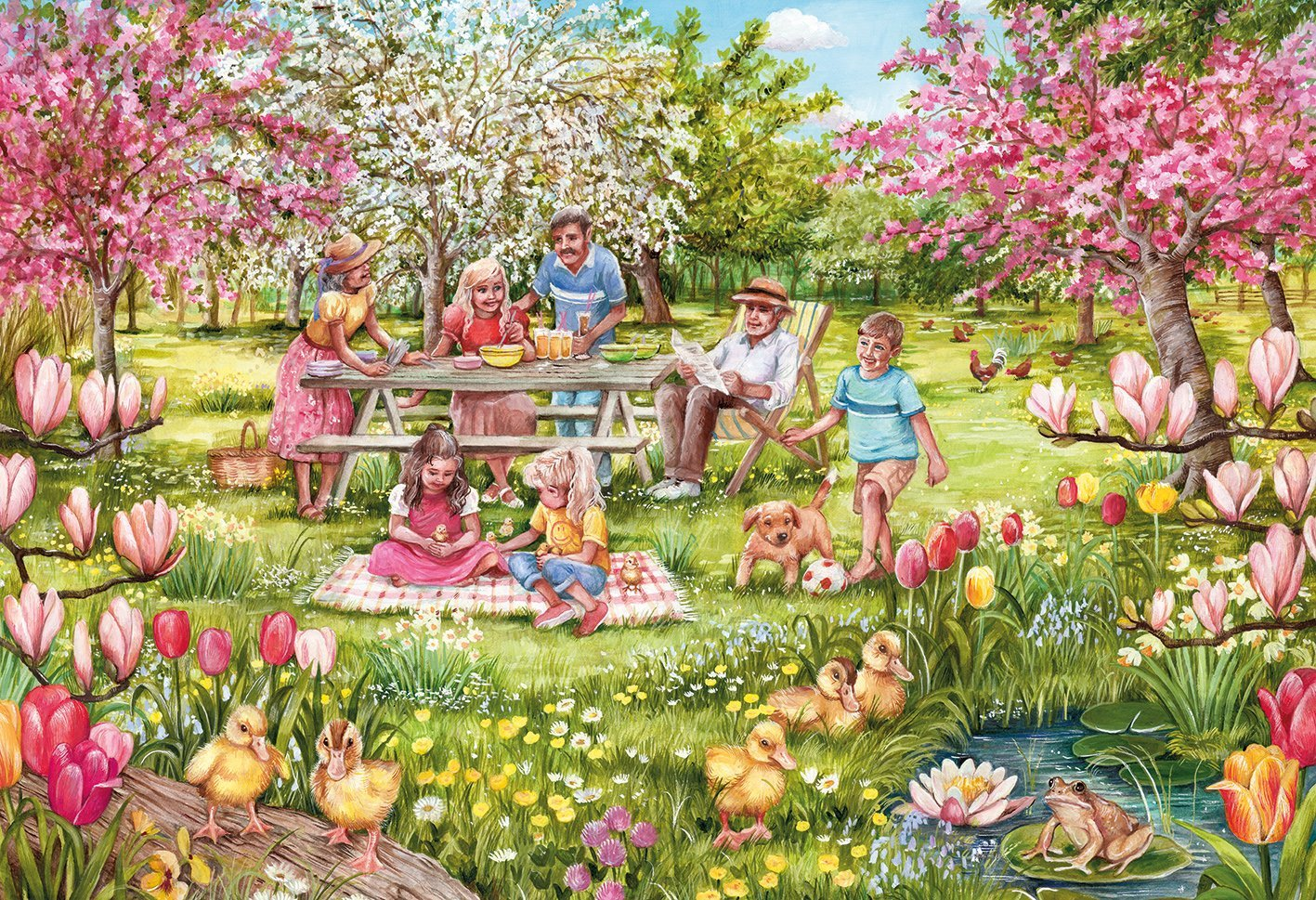 Five Little Ducks, 250 XL Puzzle