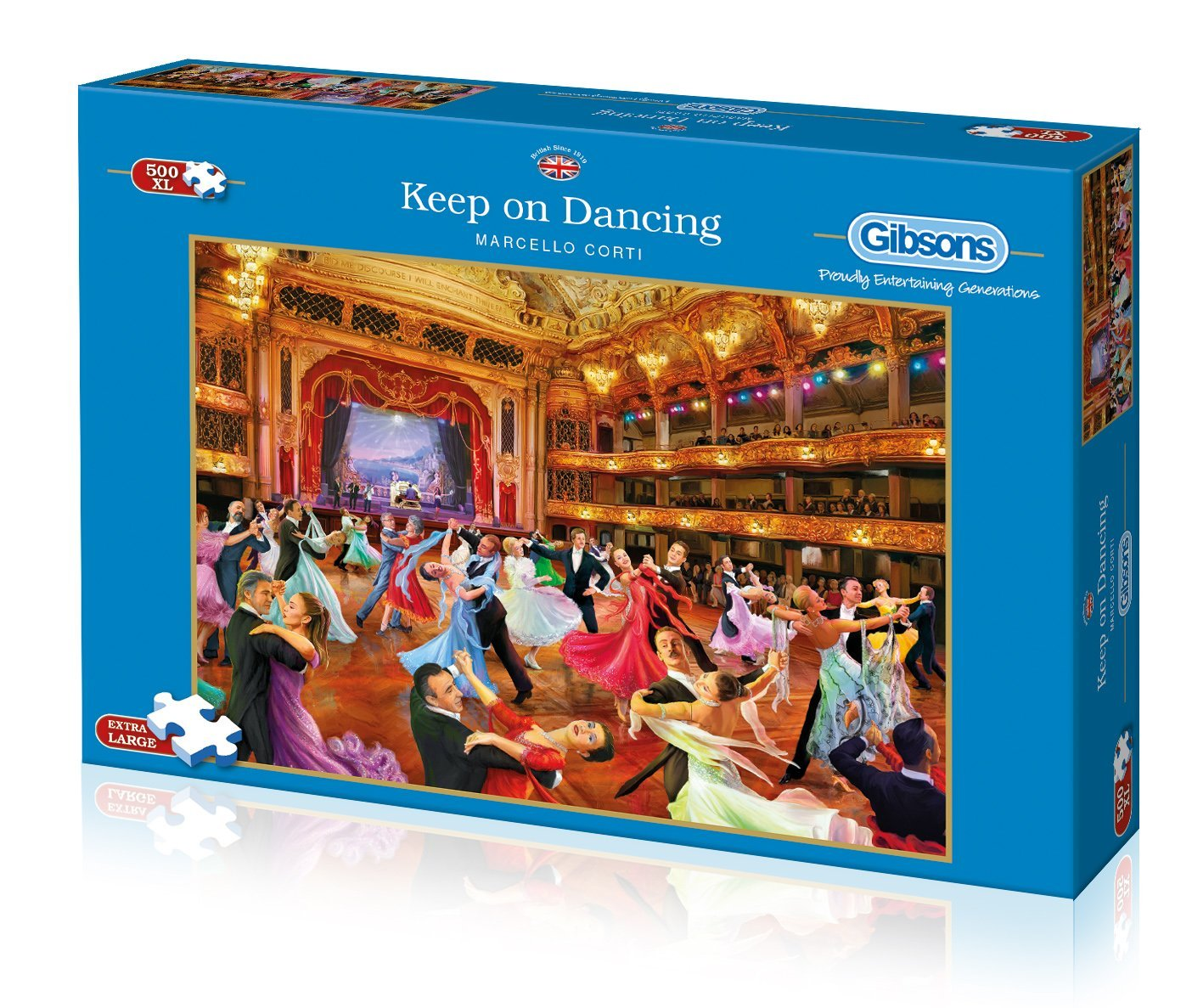 Keep On Dancing, 500 XL Puzzle