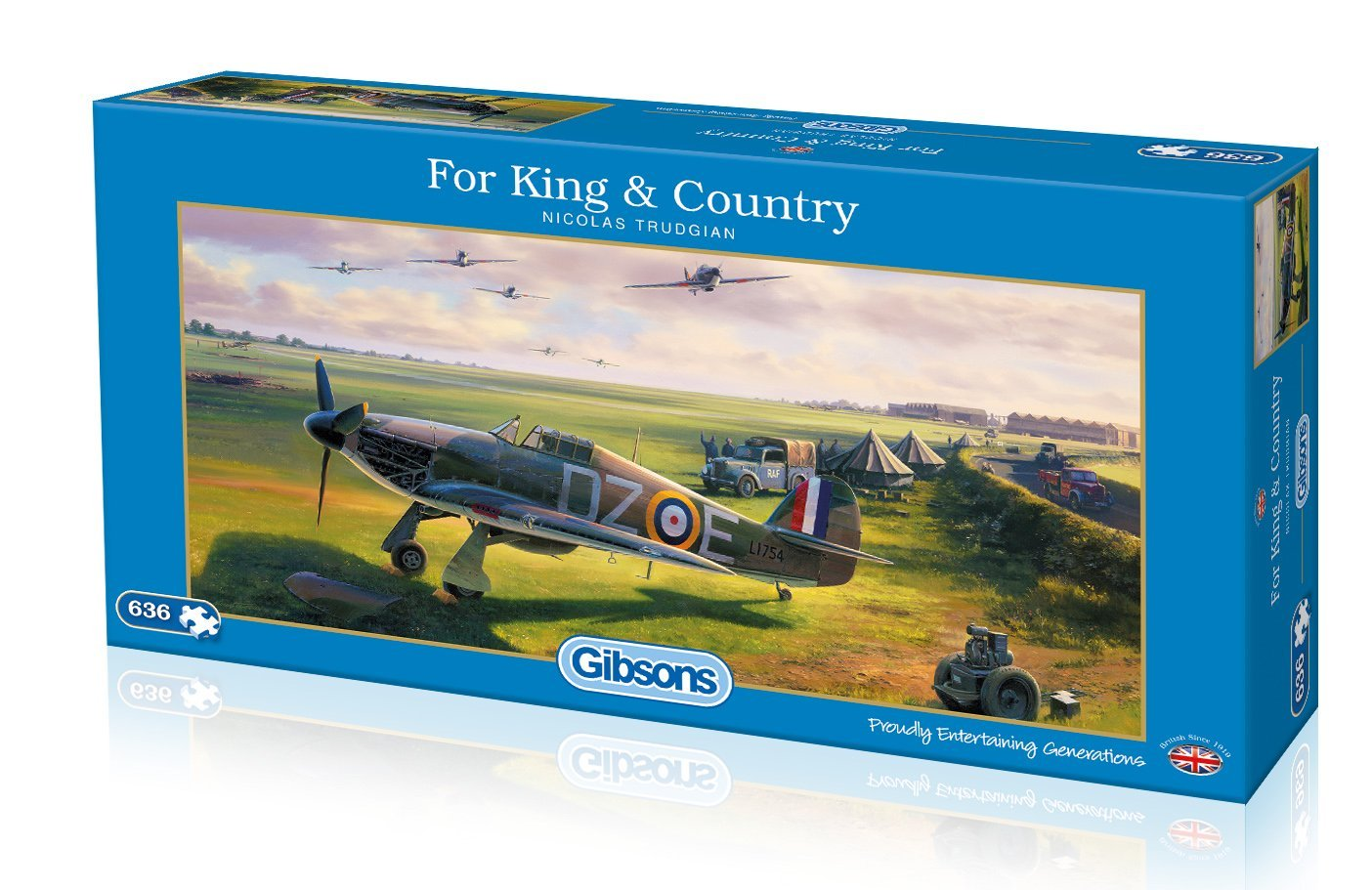 For King And Country, 636pc puzzle