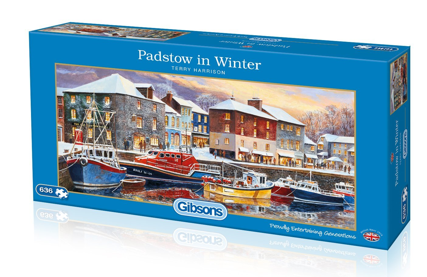 Padstow In Winter, 636pc puzzle