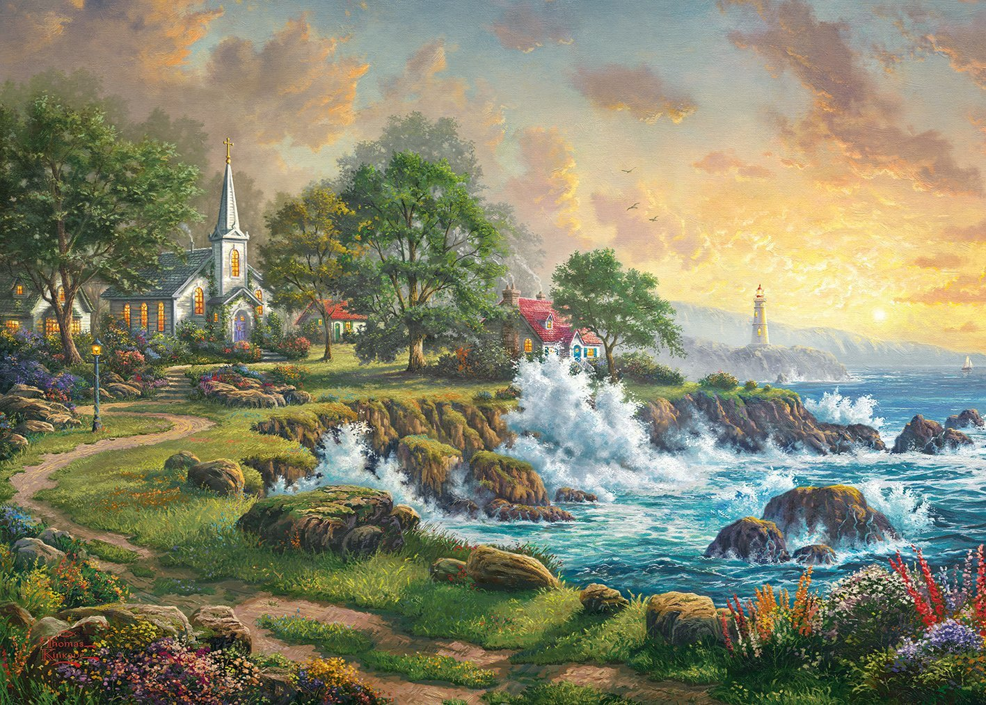 Seaside Haven, 1000pc Puzzle