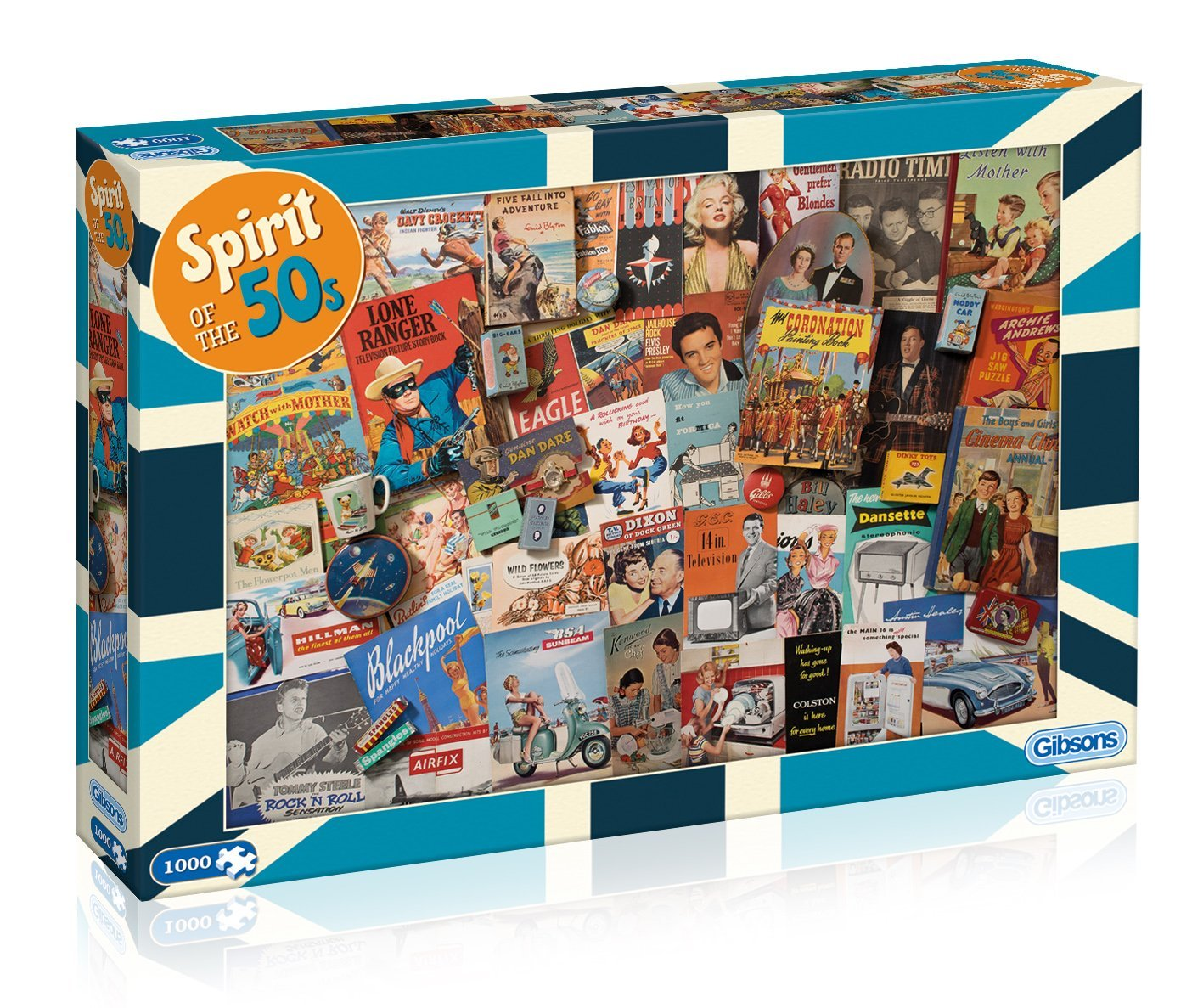 Spirit Of The 50's, 1000pc Puzzle