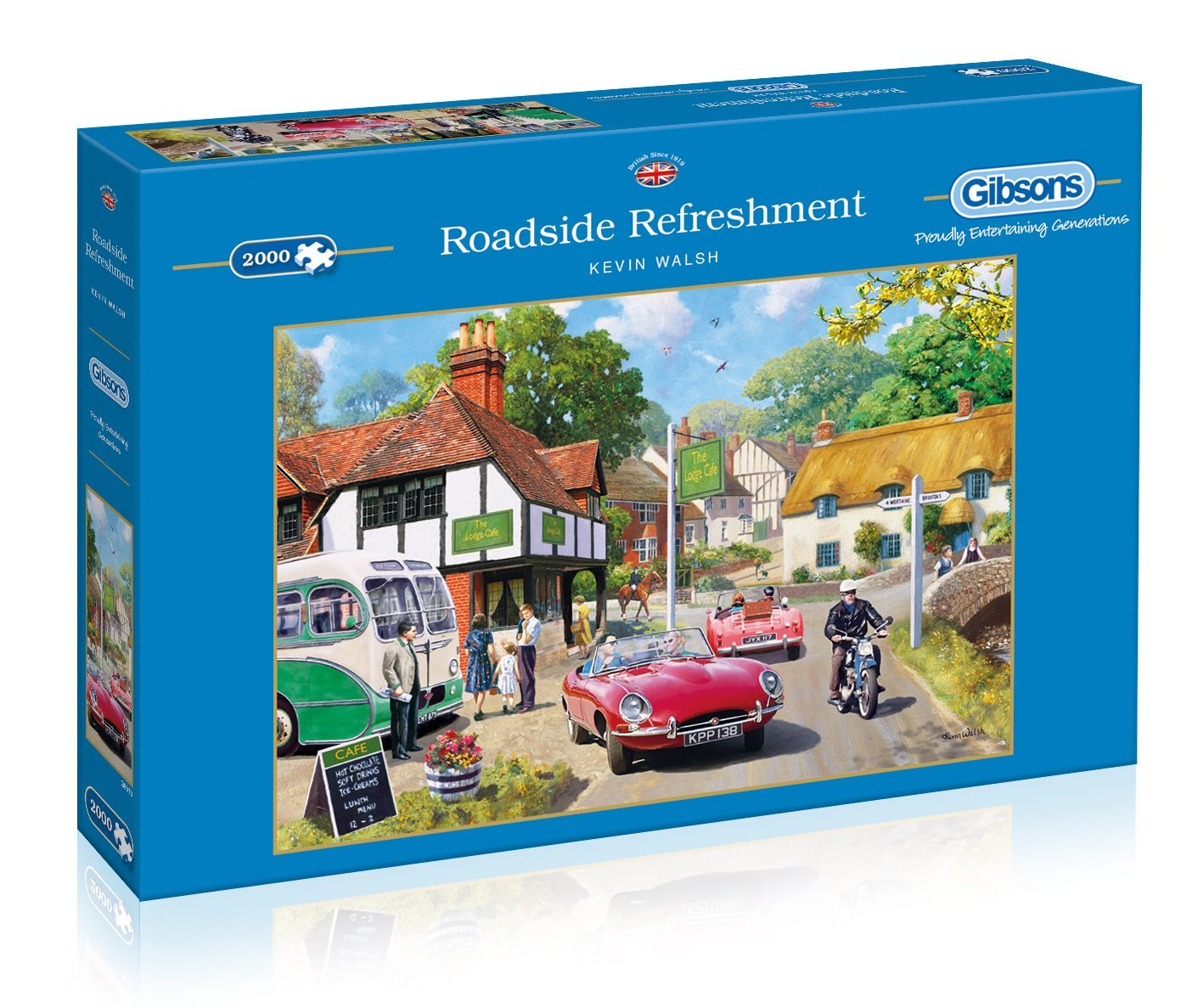 Roadside Refreshment, 2000pc Puzzle