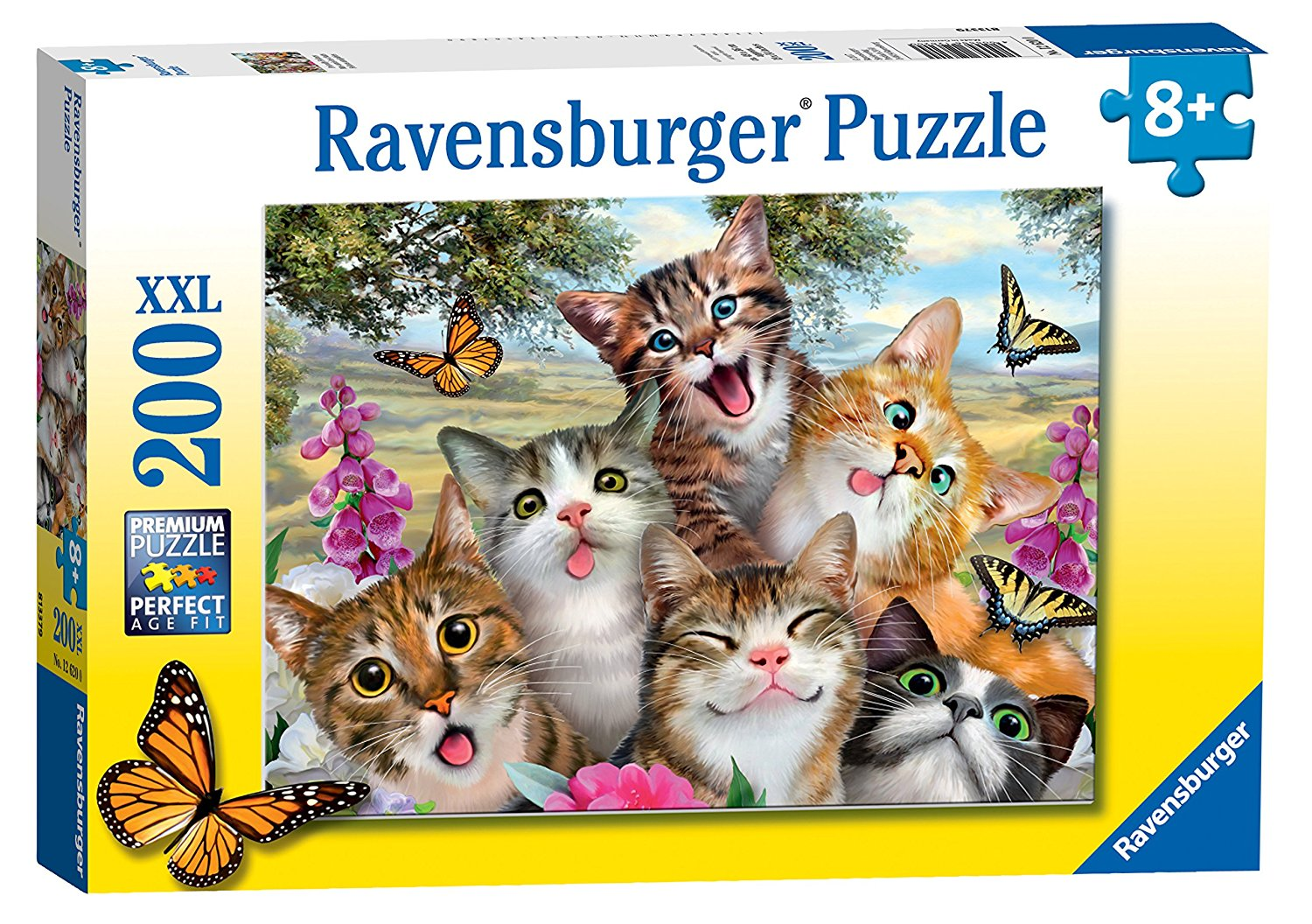 Friendly Felines, XXL 200pc