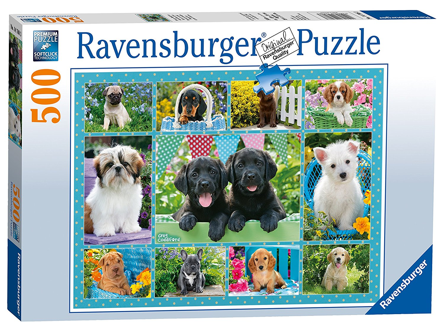 Cute Puppies, 500pc