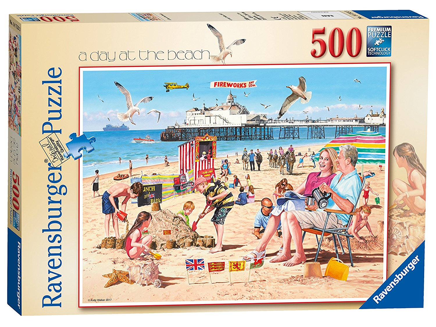 A Day At The Beach, 500pc