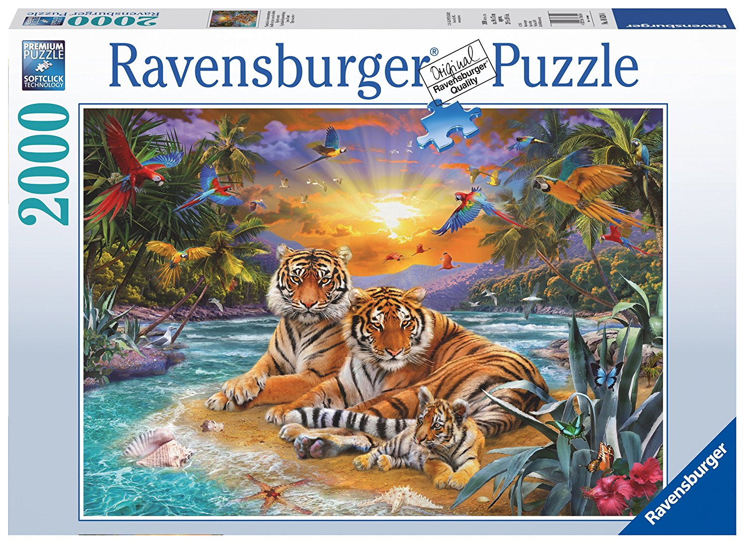 Tiger Family, 2000pc