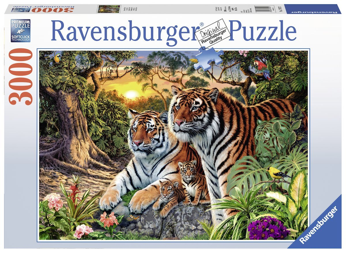 Hidden Tigers, 3000pc