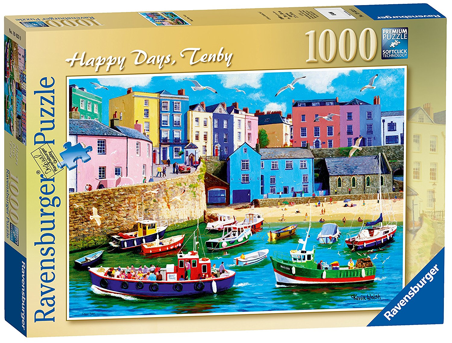 Happy Days Tenby, 1000pc