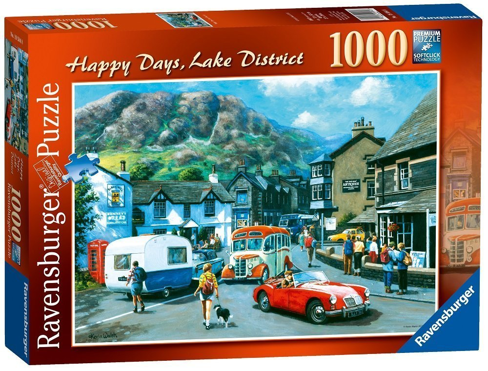 Happy Days Lake District, 1000pc