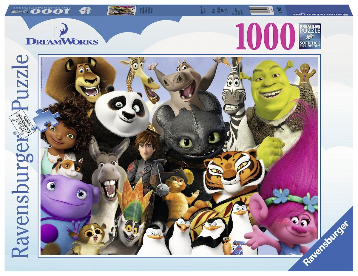 Dreamworks Multicharacter, 1000pc