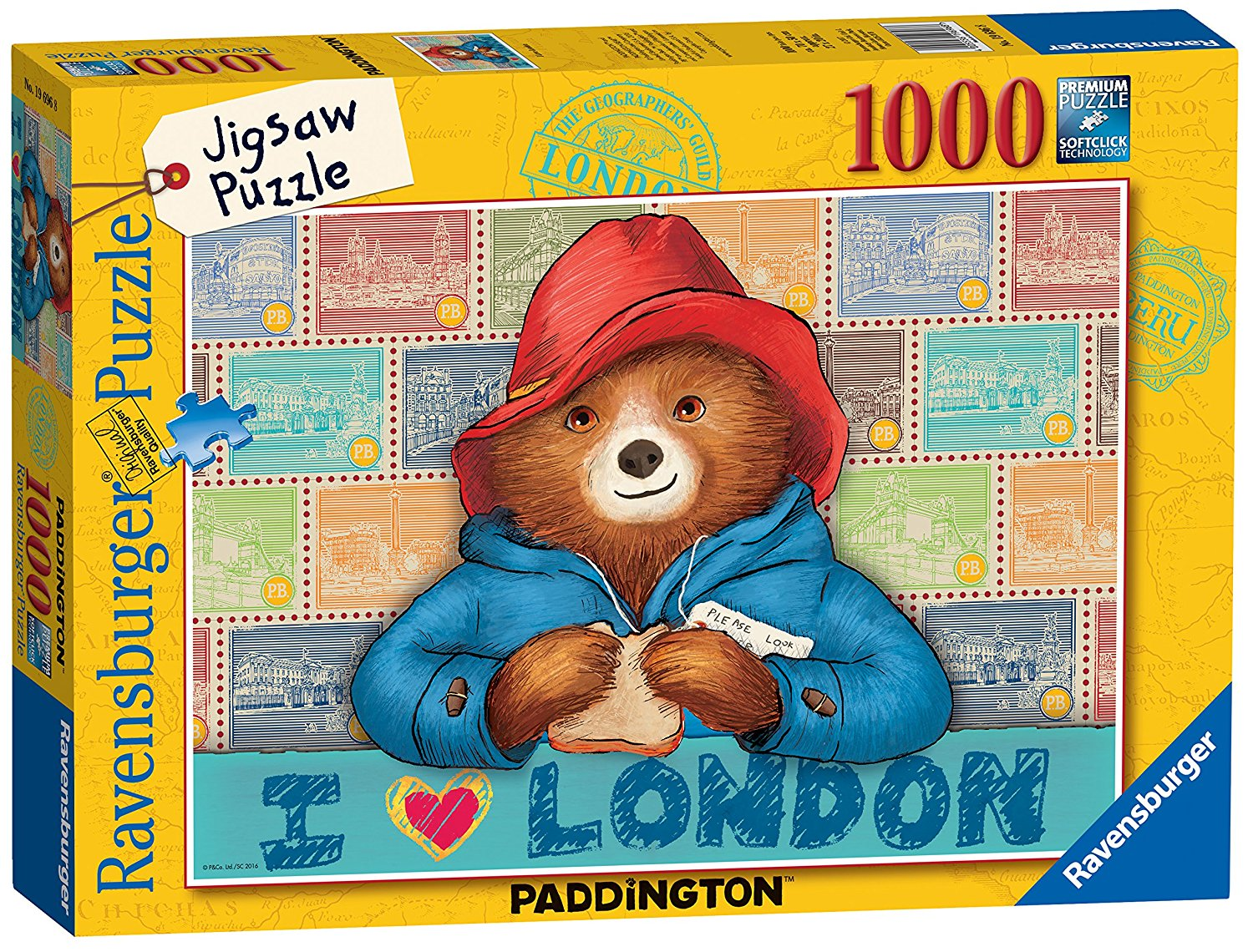 Paddington Bear, 1000pc