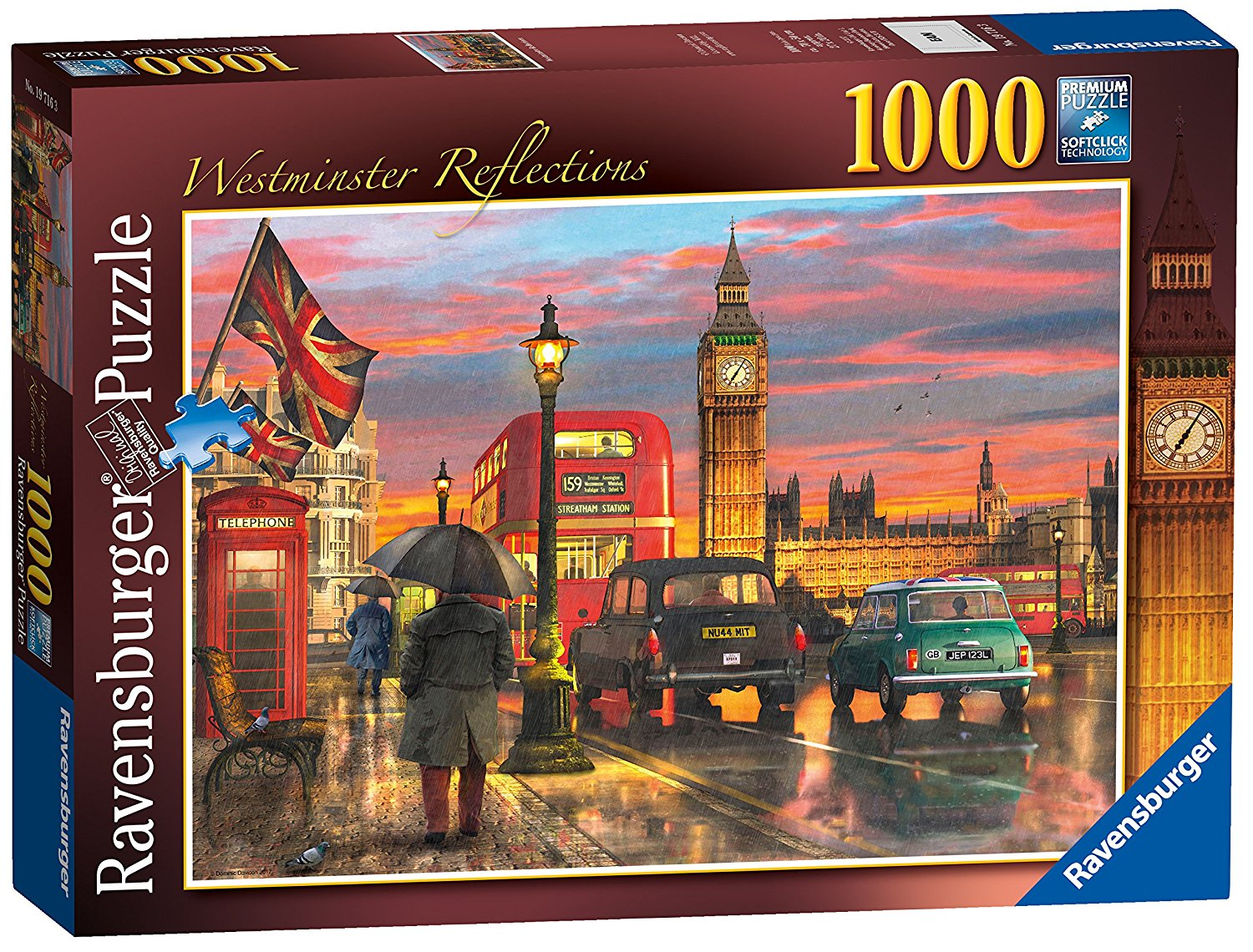London, Westminster Reflections, 1000pc