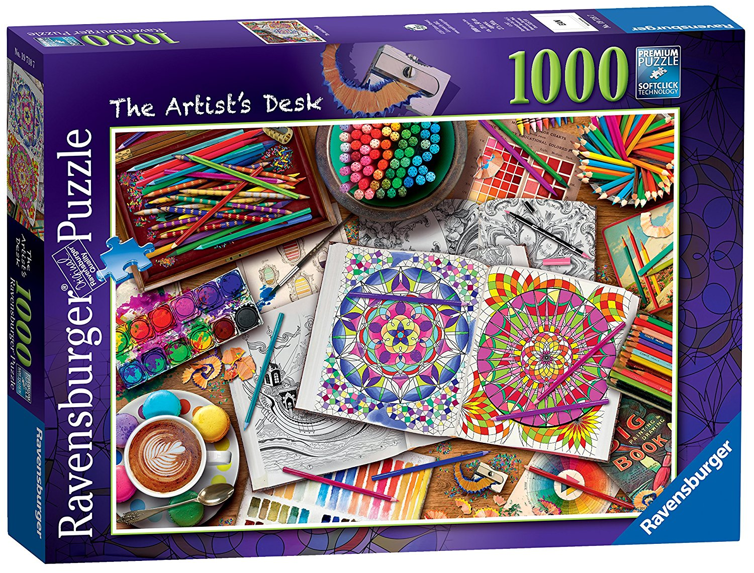 The Artist's Desk, 1000pc