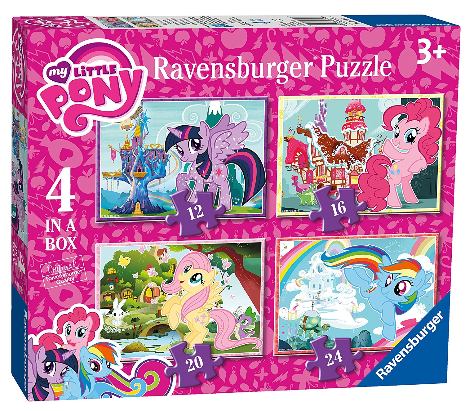 My Little Pony, 4 in Box, 12pc, 16pc, 20pc & 24pc