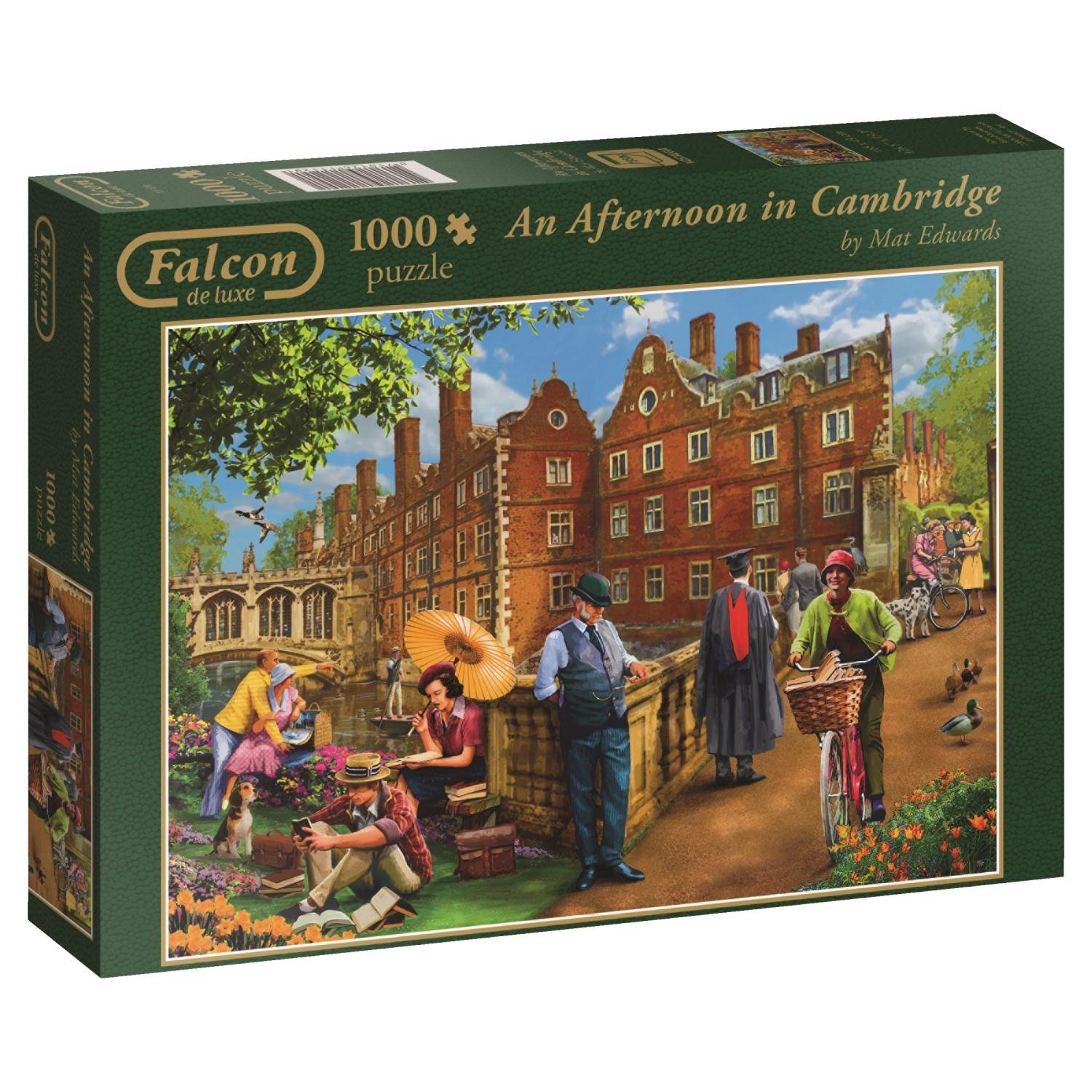 Falcon, Afternoon In Cambridge, 1000pc Jumbo Jigsaw Puzzle