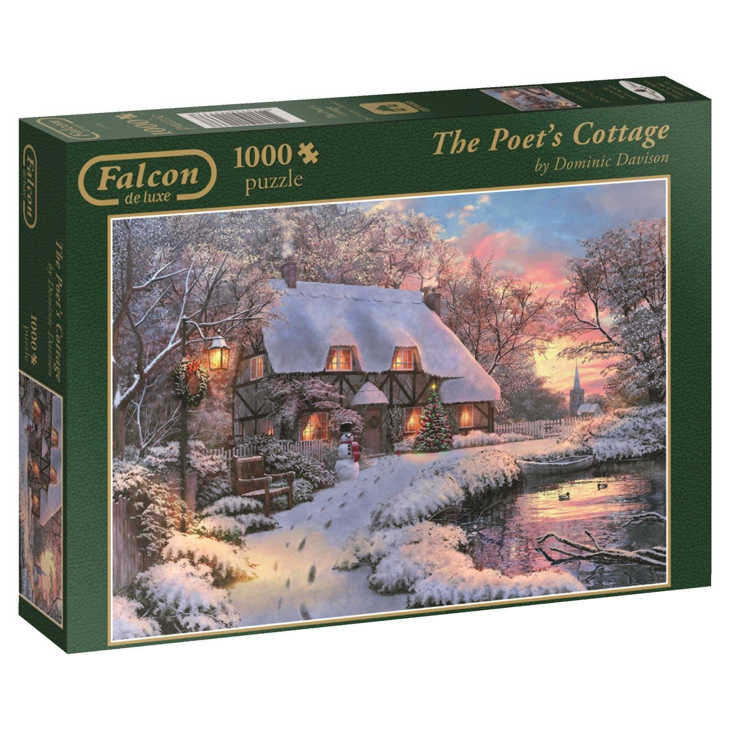 Falcon, Poets Cottage, 1000pc Jigsaw