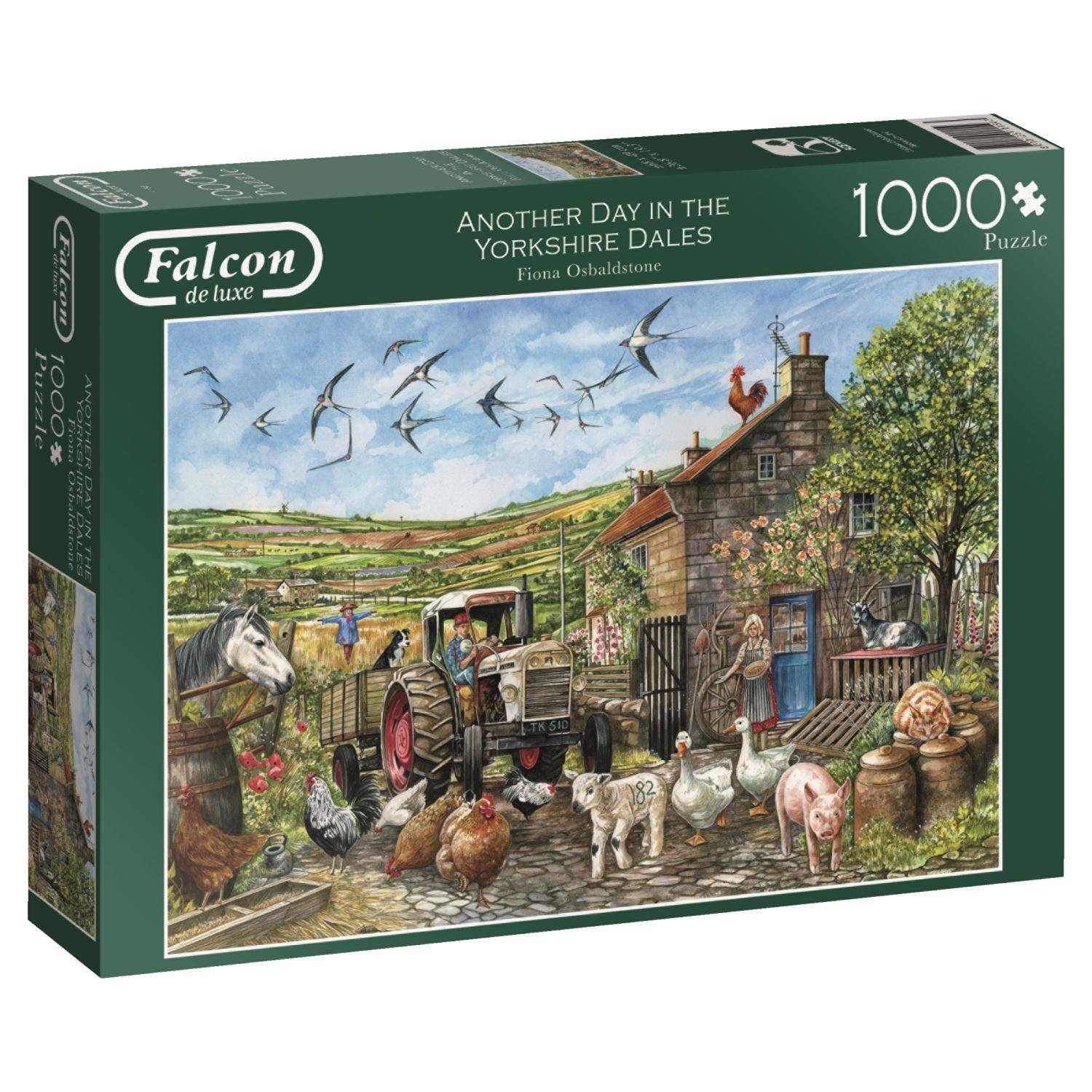Falcon, Day In The Dales, 1000pc Jigsaw Puzzle