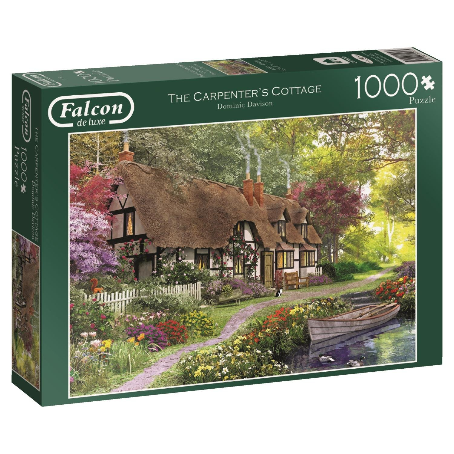 Falcon, Carpenters Cottage, 1000pc Jumbo Jigsaw