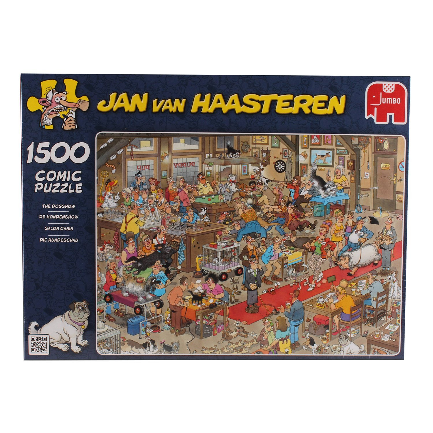 Jan van Haasteren, The Dog Show, 1500pc