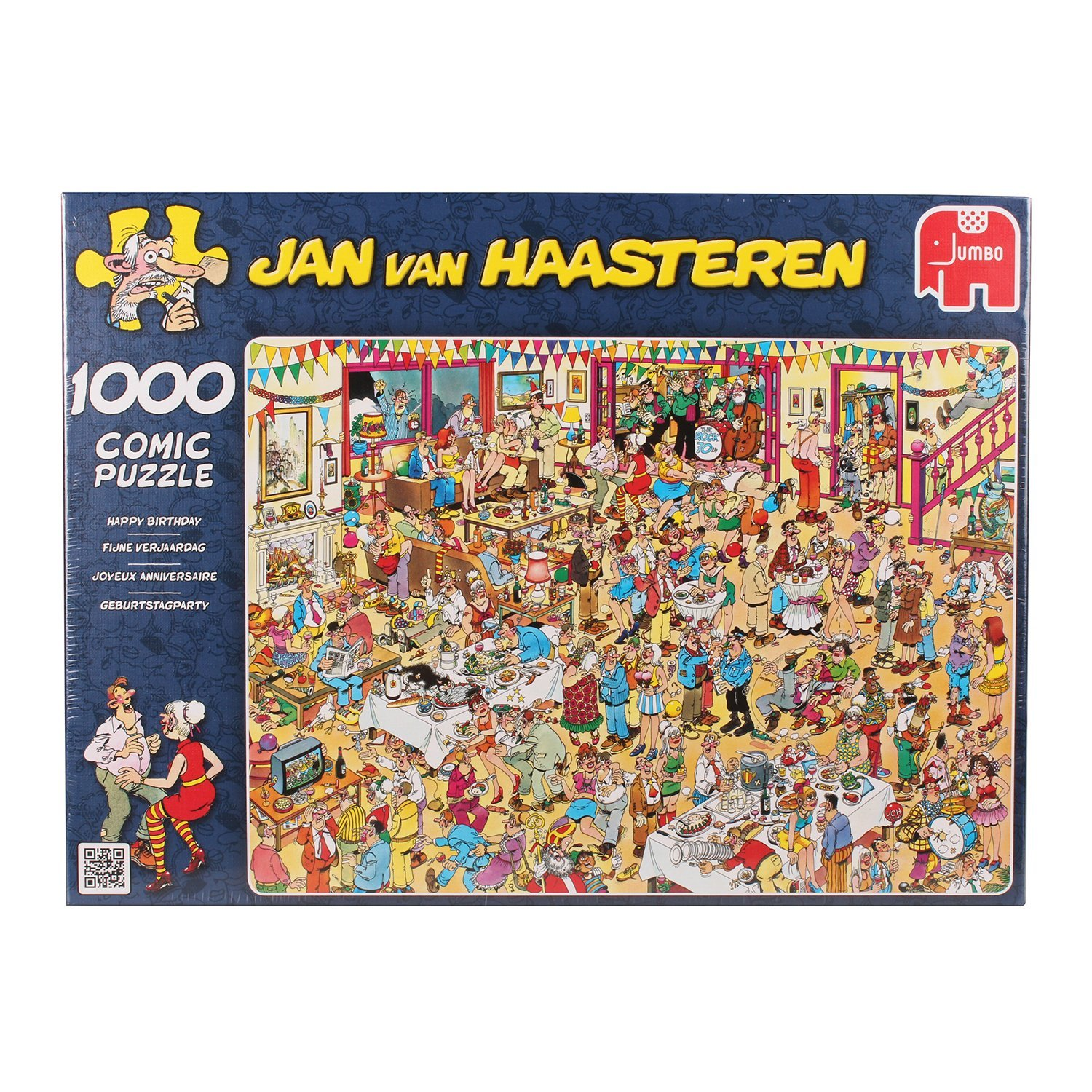 Jan Van Haasteren, Happy Birthday, 1000pc