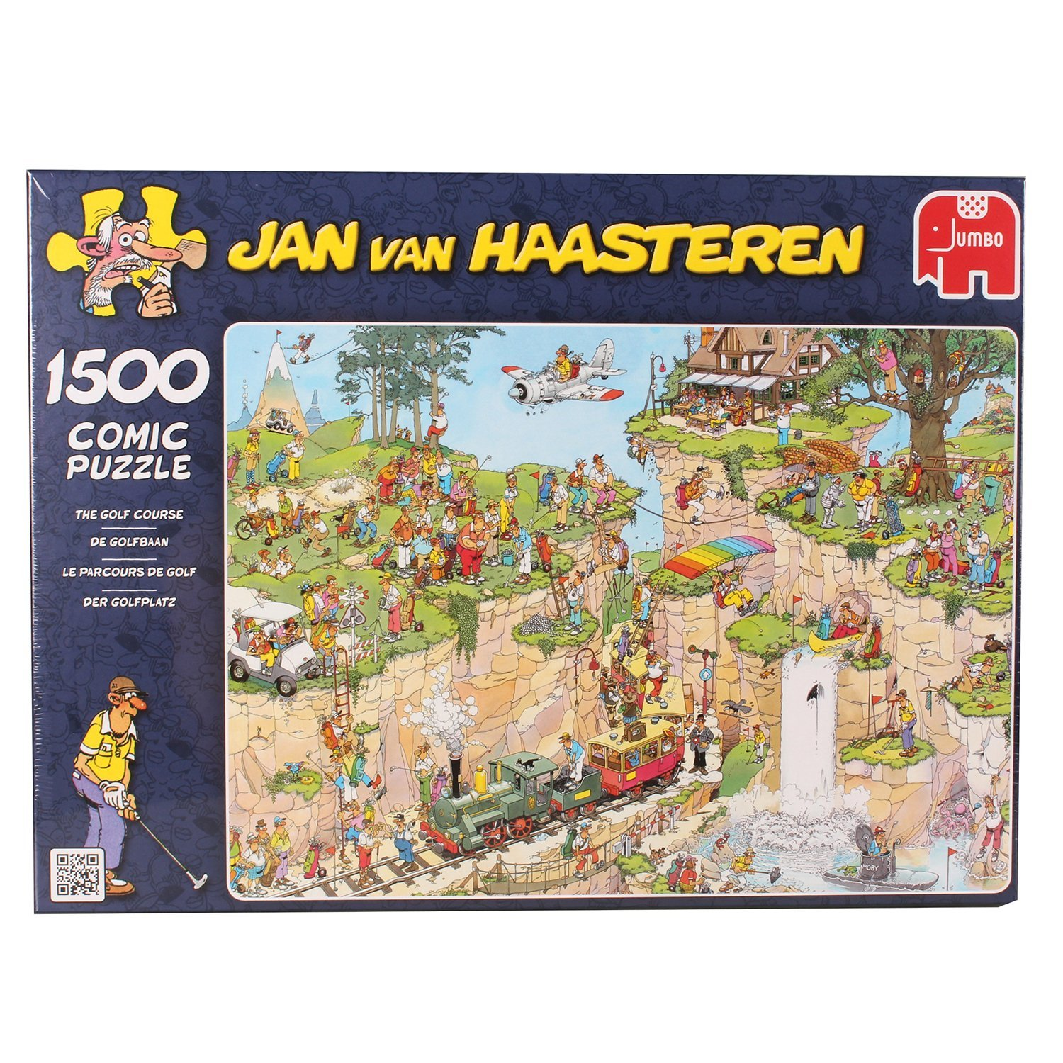 Jan van Haasteren, The Golf Course, 1500pc