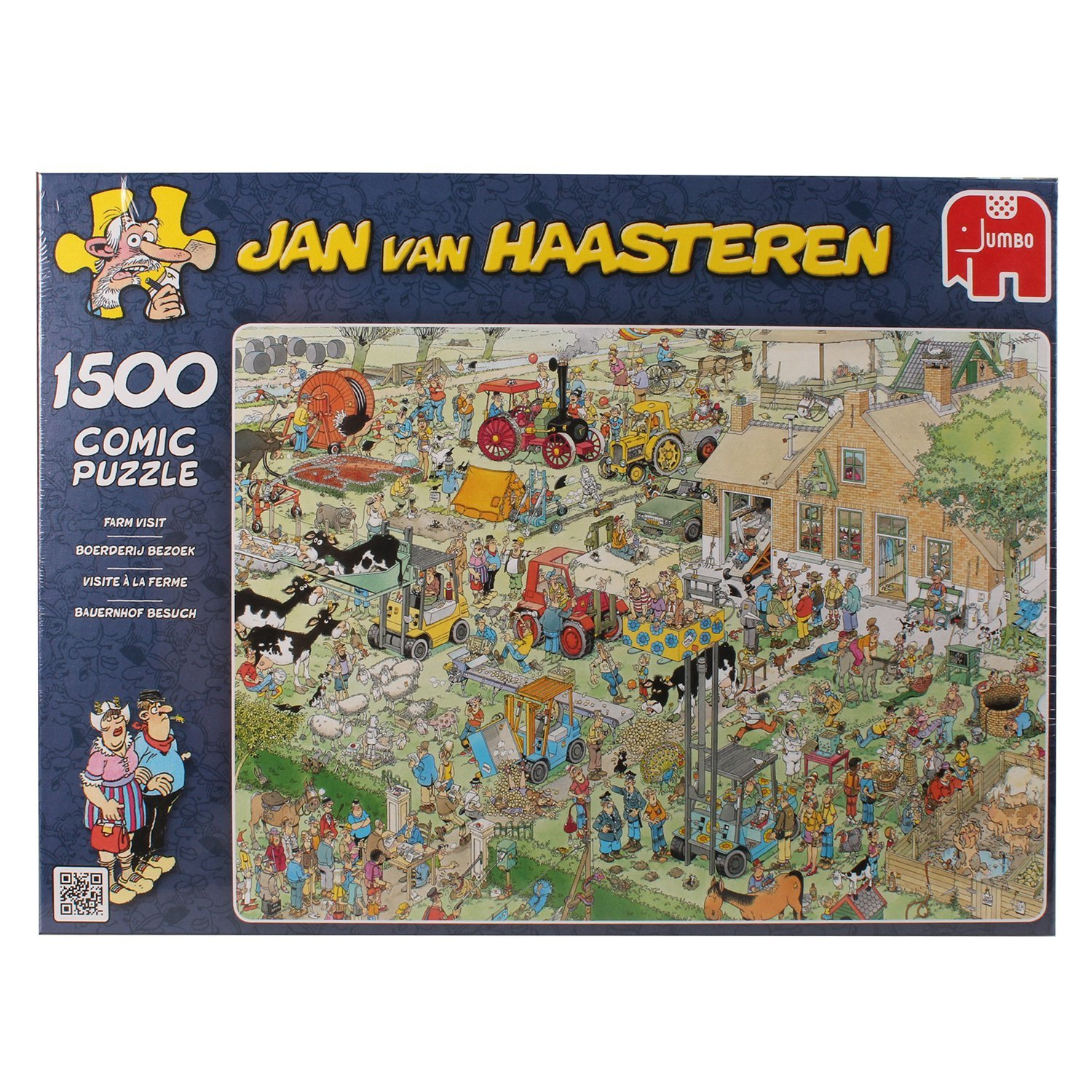 Jan van Haasteren, The Farm, 1500pc