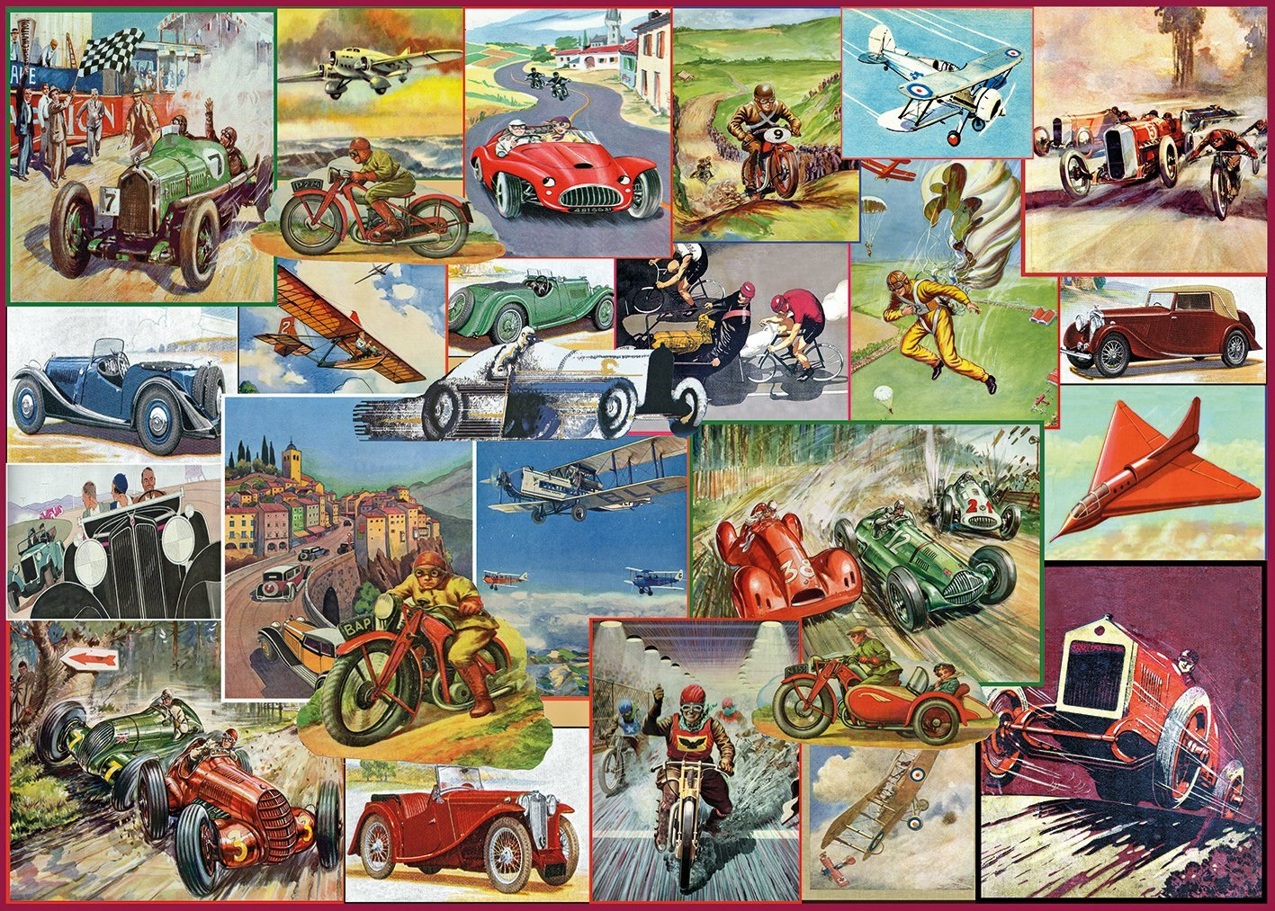 Racing Game, 1000pc puzzle