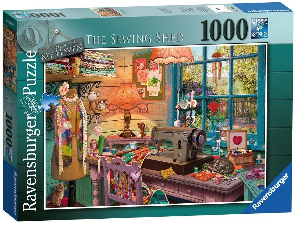 The Sewing Shed, 1000pc