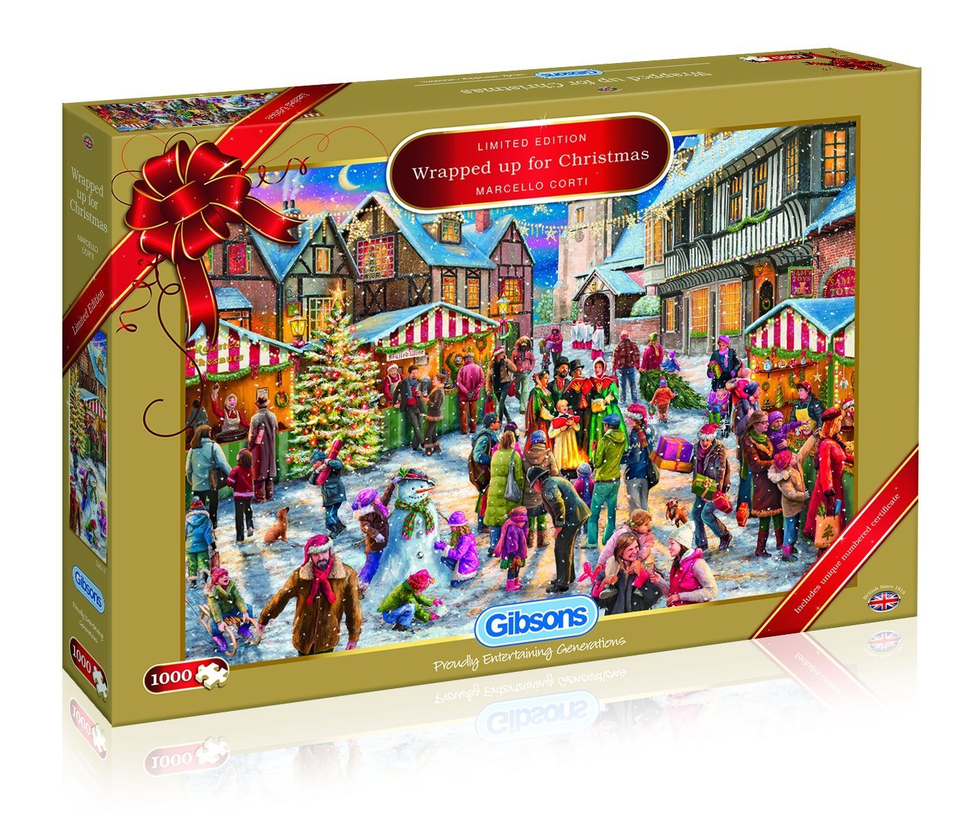 Christmas Limited Edition 2017,  Wrapped Up For Christmas, 1000pc Puzzle