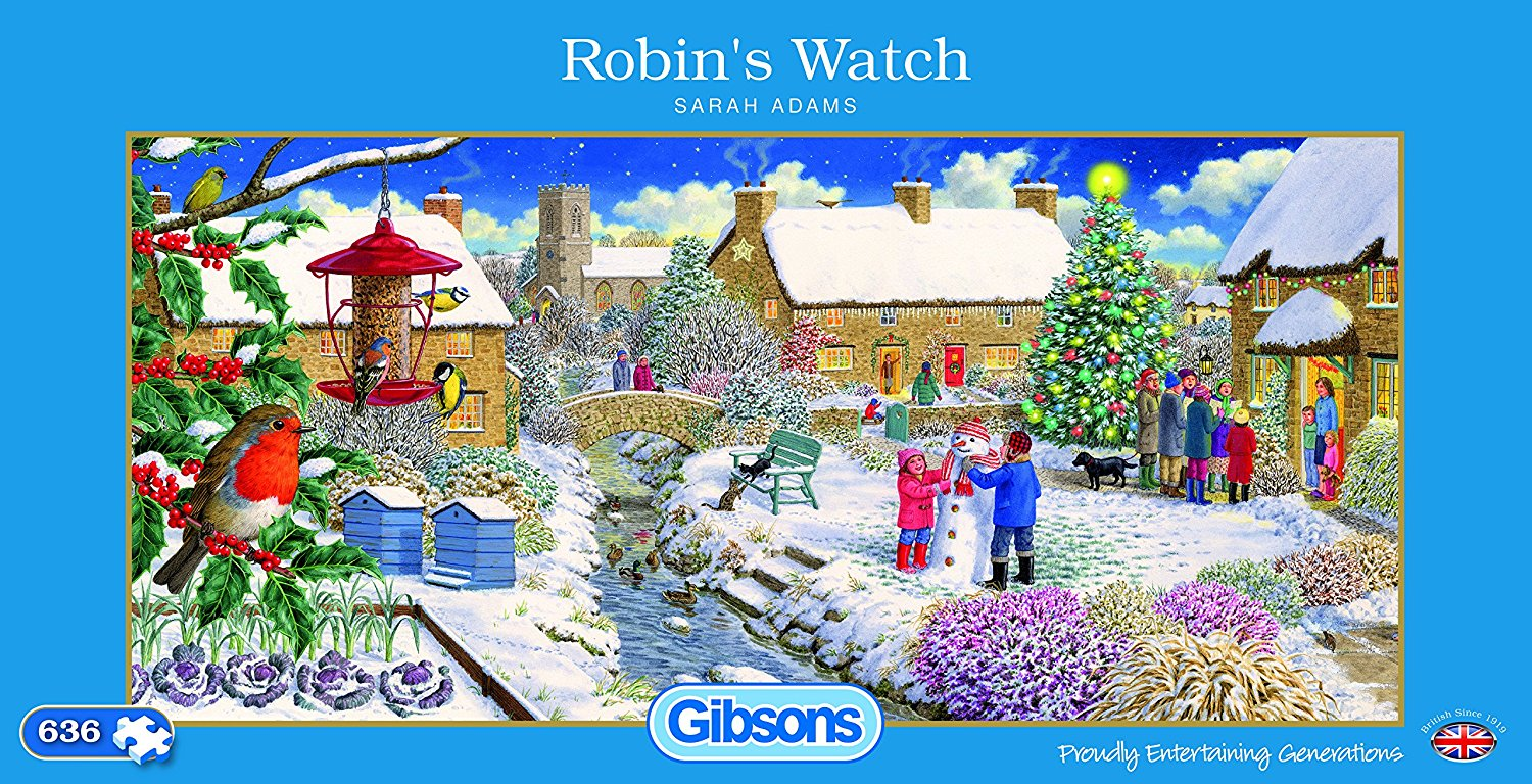 Robin's Watch, 636pc puzzle