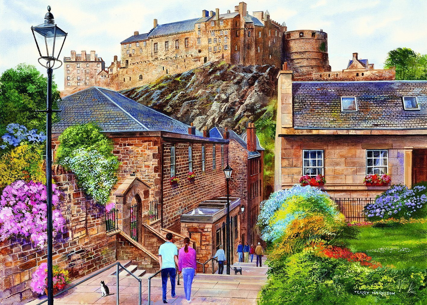 Edinburgh, The Vennel, 1000pc Puzzle