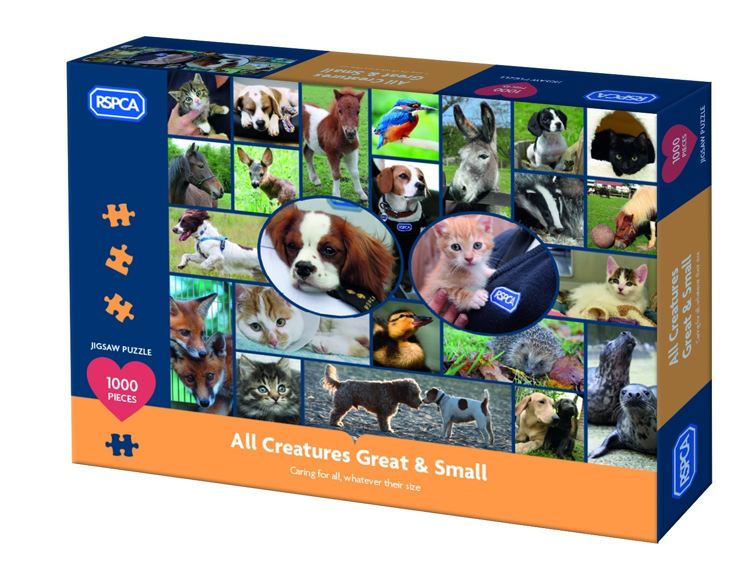 All Creatures Great And Small, 1000pc Puzzle