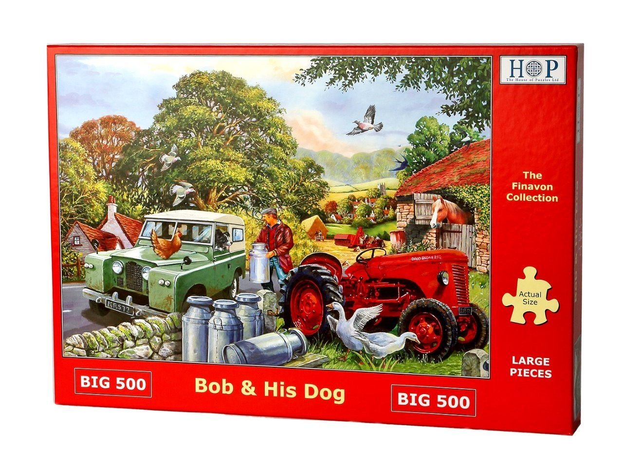 Bob And His Dog, 500xl, Puzzle