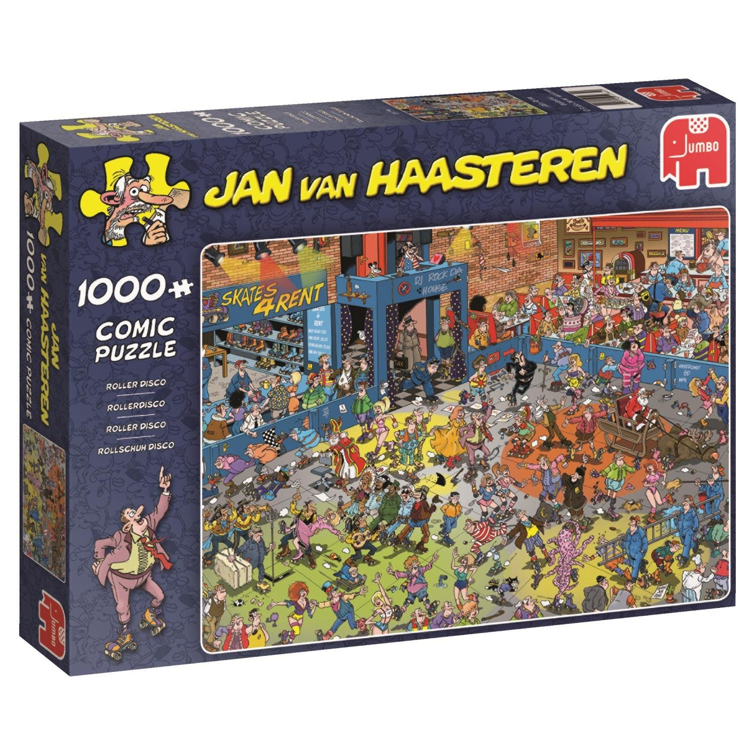 Jan van Haasteren, Roller Disco, 1000pc