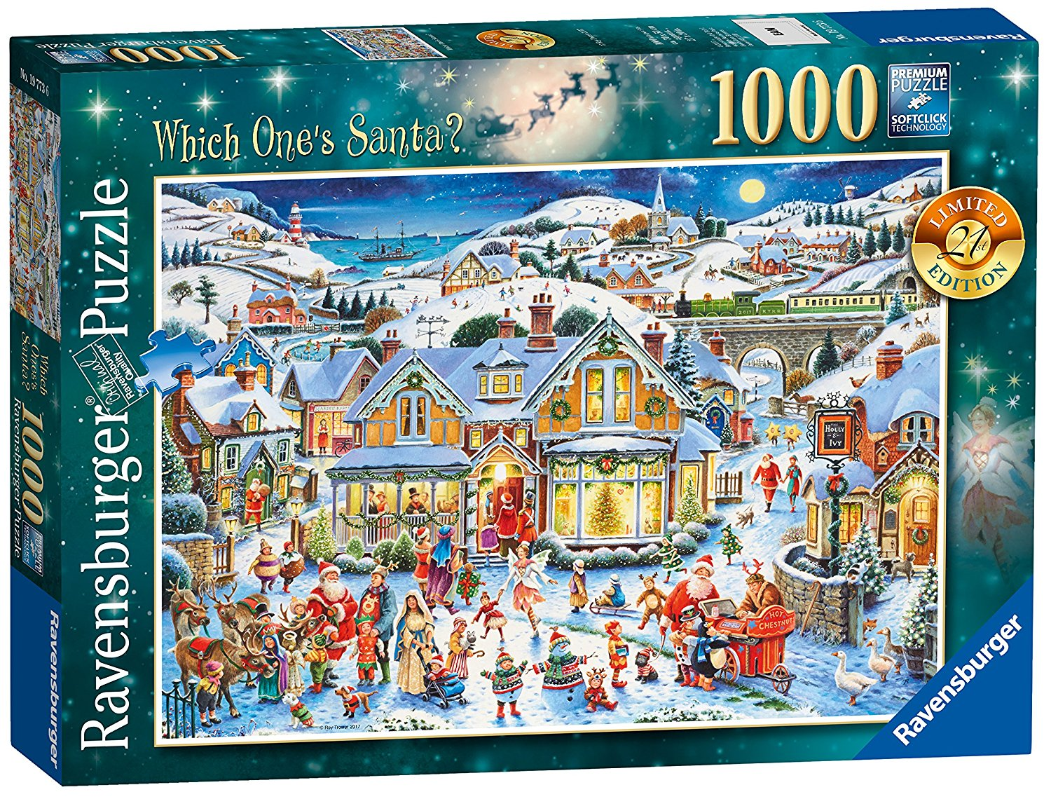 Which One's Santa, Ravensburger Christmas Puzzle 2017, 1000pc