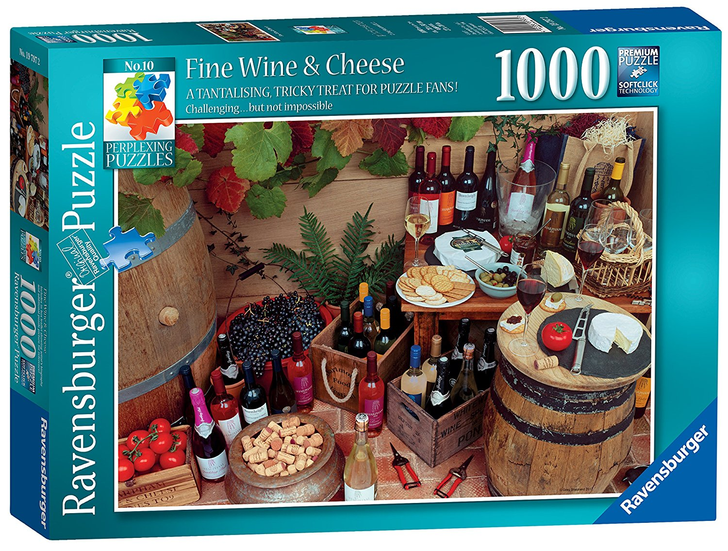Fine Wine And Cheese, 1000pc