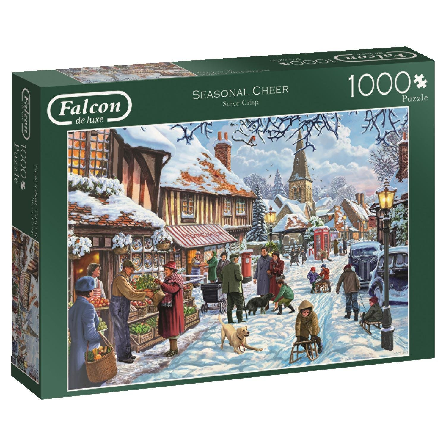 Falcon, Seasonal Cheer, 1000pc jigsaw