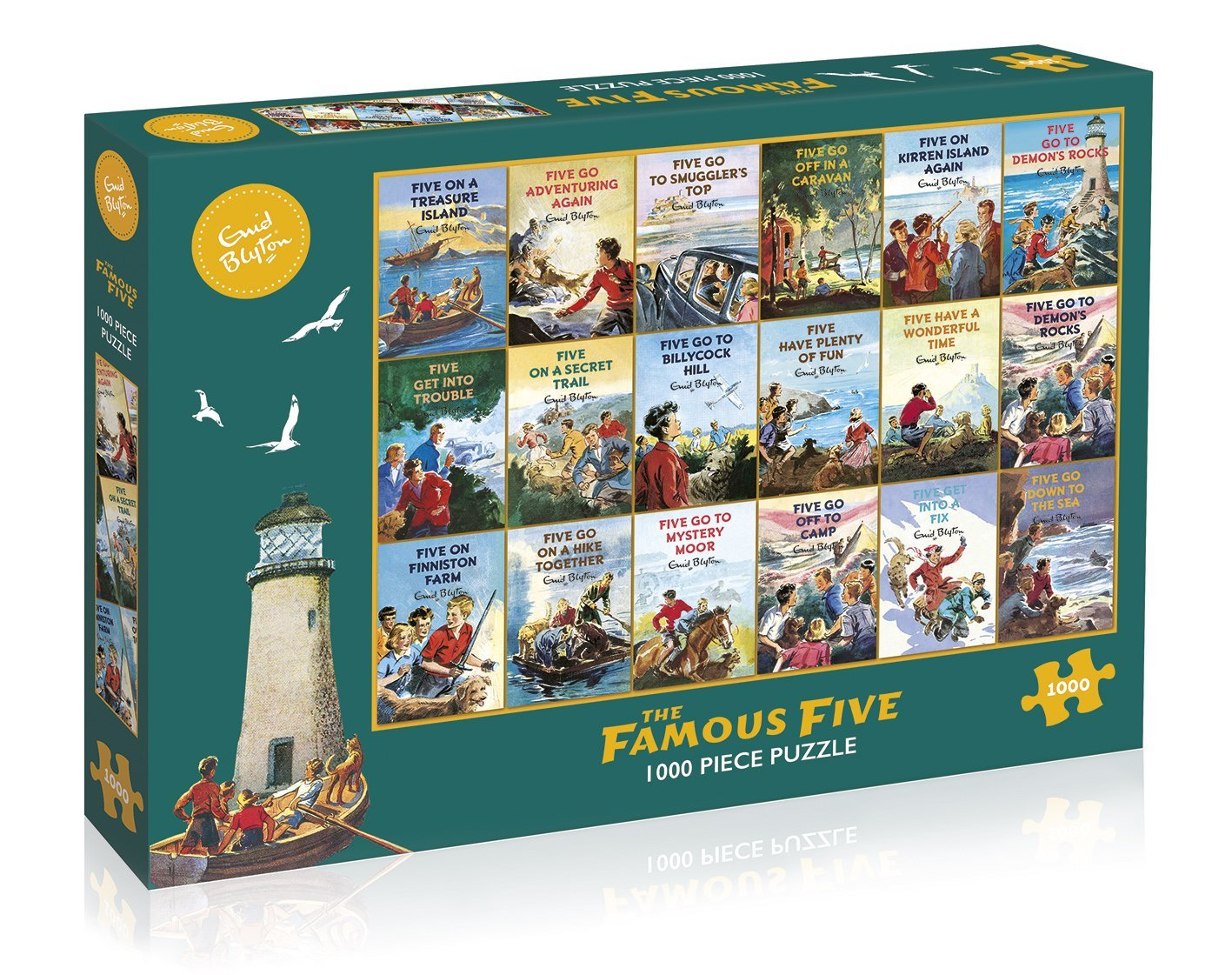 The Famous Five, 1000pc Puzzle