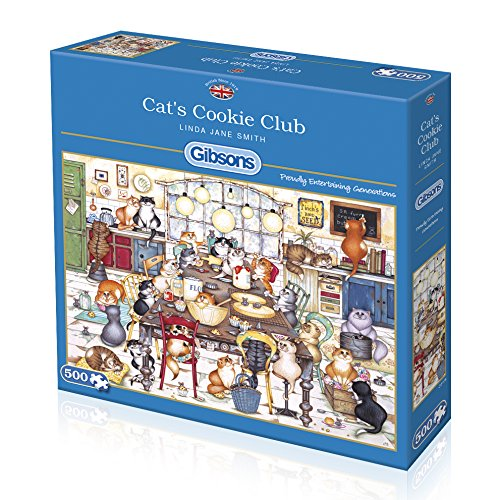 Cat's Cookie Club, 500pc puzzle