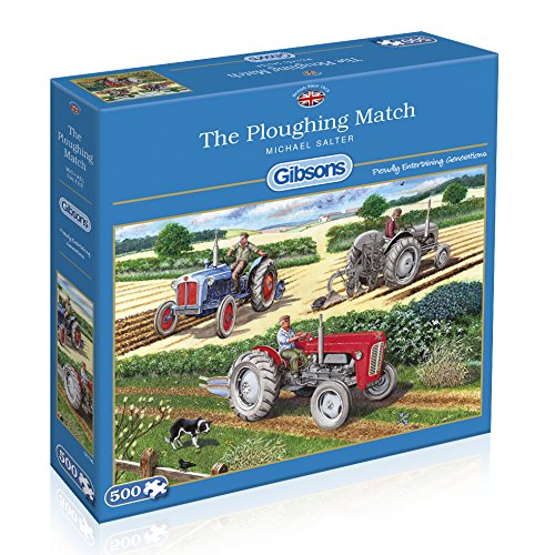 The Ploughing Match, 500pc Puzzle
