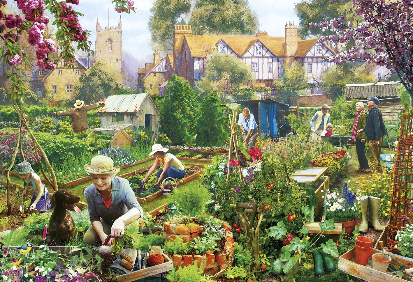 Green Fingers, 500pc puzzle