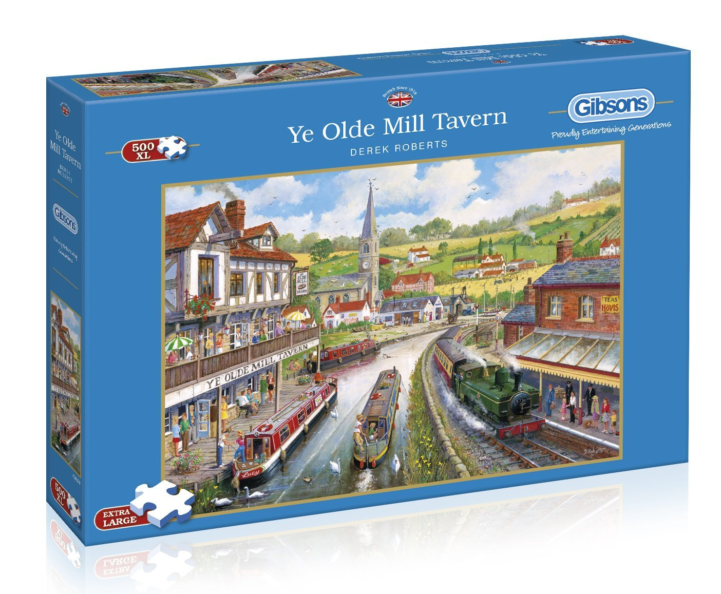 Ye Old Mill Tavern, 500 XL Puzzle