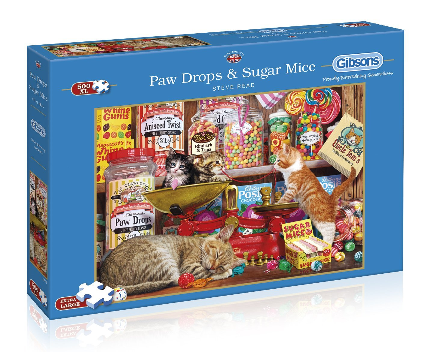 Paw Drops And Sugar Mice, 500 XL Puzzle