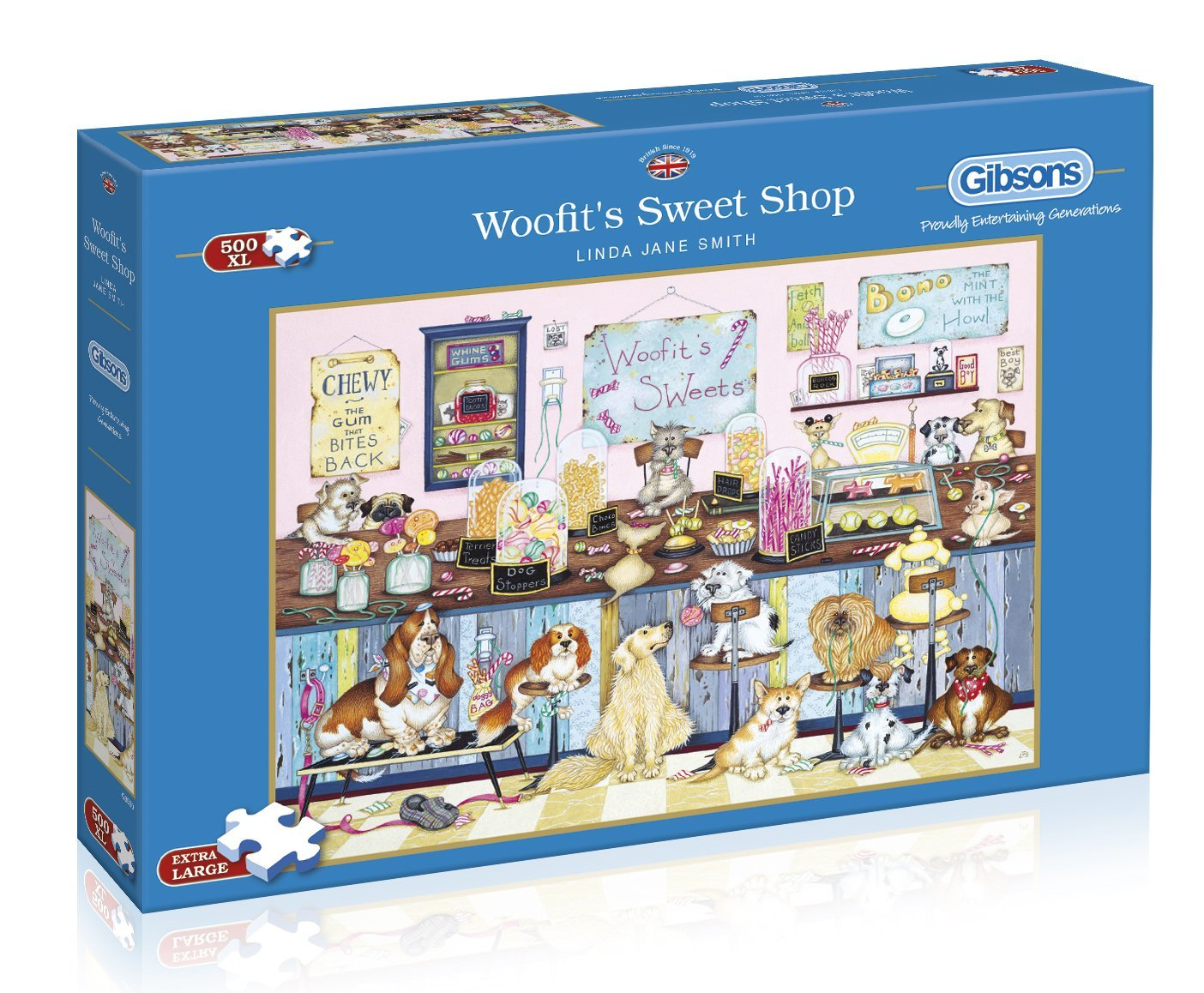 Woofit's Sweet Shop, 500 XL Puzzle